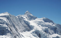 Montagna delle Cordigliera della neve Fotografia Stock