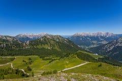 Montagna delle dolomia di estate Fotografie Stock Libere da Diritti