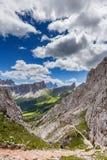 Montagna delle dolomia di estate Fotografia Stock Libera da Diritti