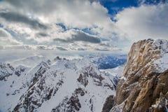 Montagna delle dolomia nelle alpi italiane Fotografie Stock Libere da Diritti
