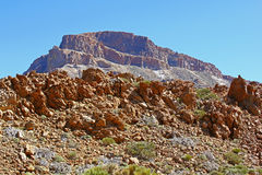 Montagna delle isole Canarie Fotografia Stock Libera da Diritti