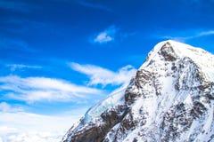 Montagna delle nevi Fotografie Stock