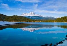 Montagna dello Snowy Immagini Stock Libere da Diritti