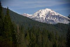 Montagna dello Snowy Fotografie Stock