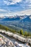 Montagna dello zolfo in Banff, Alberta, Canada Immagine Stock Libera da Diritti