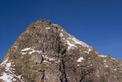 Montagna dello zub di Chornyi Fotografie Stock