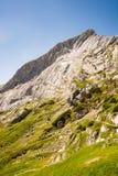 Montagna di Alpspitze in Baviera Fotografia Stock