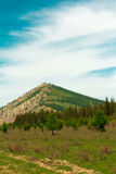 Montagna di Altai di estate Fotografie Stock