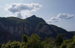 Montagna di Apuane Fotografia Stock Libera da Diritti