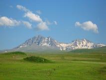 Montagna di Aragats Immagine Stock