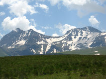 Montagna di Aragats Immagini Stock Libere da Diritti