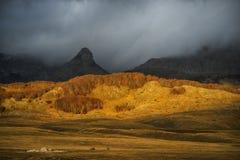 Montagna di autunno Fotografia Stock Libera da Diritti