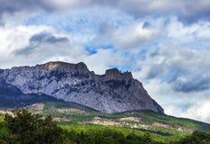 Montagna di Ay-Pétri Immagini Stock