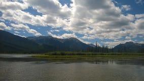 Montagna di Banff Immagini Stock Libere da Diritti