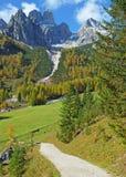 Montagna di Bischofsmuetze, Filzmoos, Austria Fotografia Stock