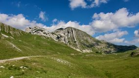 Montagna di Bobotov Kuk Fotografia Stock
