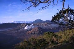 Montagna di Bromo Immagini Stock