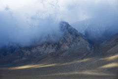 montagna di California fotografie stock