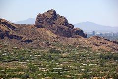 Montagna di Camelback Fotografia Stock Libera da Diritti