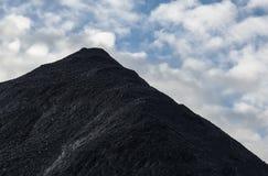 Montagna di carbone Fotografia Stock