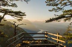 Montagna di Cesalpina in Serbia immagini stock
