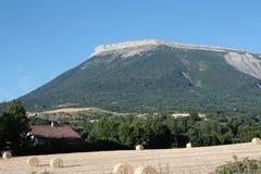 Montagna di Ceuse in alpi, Francia Fotografie Stock Libere da Diritti