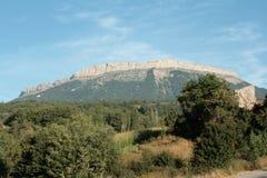 Montagna di Ceuse in alpi, Francia Fotografie Stock