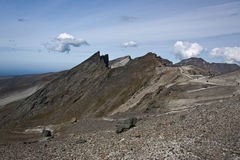 Montagna di CHANGBAI Immagini Stock