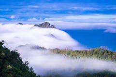 Montagna di Chiangdao, Chiangmai, Tailandia Fotografia Stock