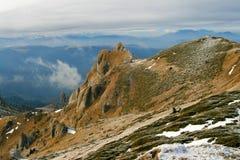 Montagna di Ciucas - Romania Immagine Stock