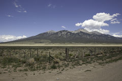 Montagna di Colorado fotografia stock