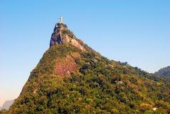 Montagna di Corcovado immagini stock libere da diritti