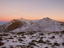 Montagna di Costila Fotografie Stock