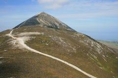 Montagna di Croagh Patrick Fotografia Stock
