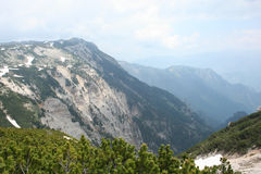 Montagna di Cvrsnica fotografia stock