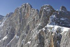 Montagna di Dachstein Fotografia Stock