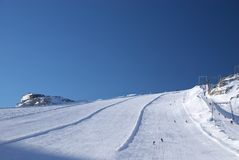 Montagna di Dachstein Fotografia Stock Libera da Diritti