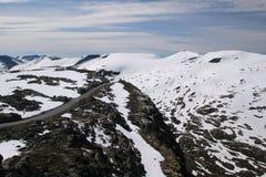 Montagna di Dalsnibba, Norvegia Fotografia Stock Libera da Diritti