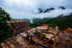 Montagna di dao di Chiang, Tailandia Fotografie Stock