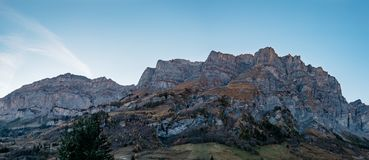 Montagna di Daubenhorn immagini stock