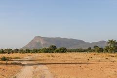 Montagna di Dimbulagala, Polonnaruwa, Sri Lanka Fotografie Stock Libere da Diritti