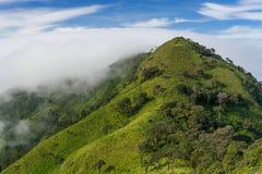 Montagna di Doi Luang Payao nella parte settentrionale della Tailandia fotografia stock