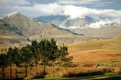 Montagna di Drakensberg Fotografie Stock Libere da Diritti