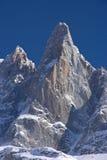 Montagna di Dru del massiccio del Monte Bianco Fotografie Stock Libere da Diritti