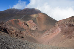 Montagna di Etna Fotografie Stock