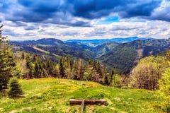 Montagna di Feldberg in primavera Fotografia Stock