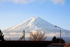 Montagna di Fujiyama Immagini Stock