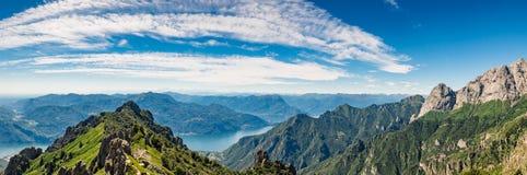 Montagna di Grigna immagini stock