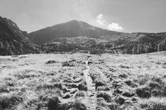 Montagna di Gumpeneck immagine stock