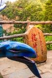 Montagna di hallelujah a Zhangjiajie Forest Park nazionale, Wulingyuan, Cina fotografia stock